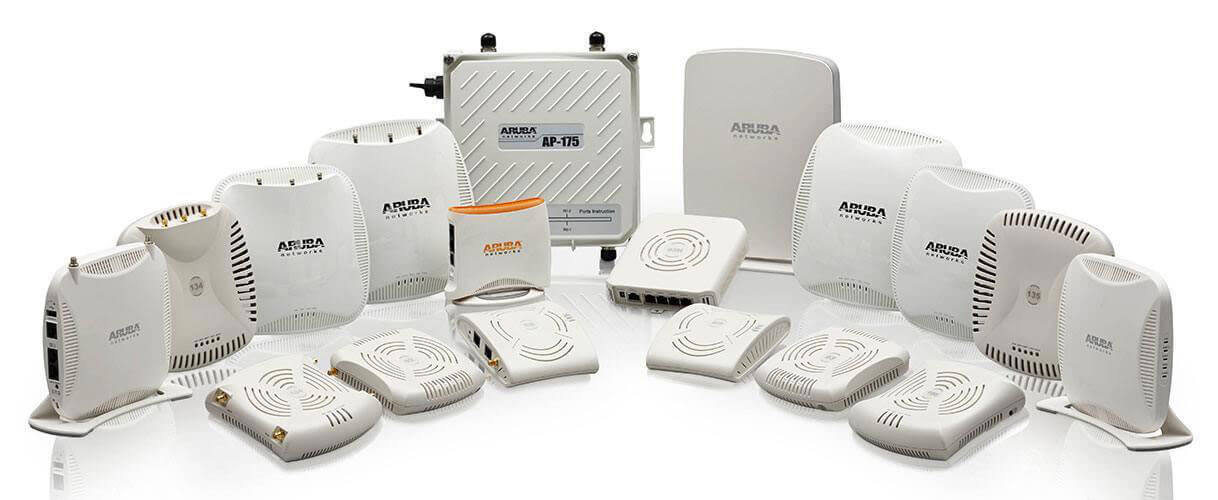 Aruba 802.11ac and 802.11n access points
